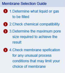 Membrane Selection Guide